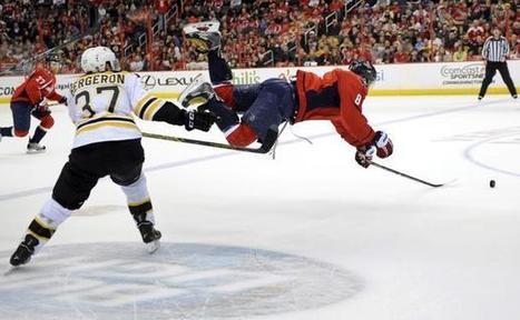 Bruins top Capitals 4-2, clinch Atlantic Division - Boston.com | Hockey | Scoop.it