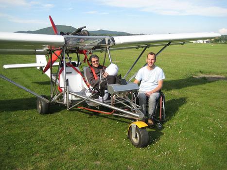 Piloter un ULM en fauteuil roulant avec Volandi - Faire Face - Toute l'actualité du handicap moteur   Handicap, Mobilité et Vivre Ensemble   Scoop.it