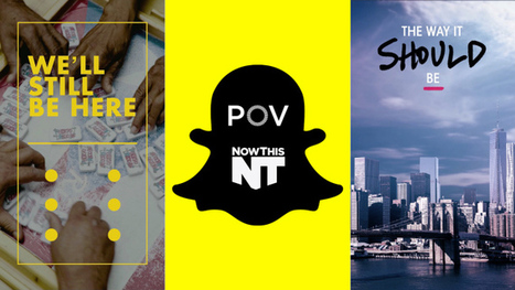 First Snapchat-Native Documentary Films to Launch From PBS Series POV (EXCLUSIVE) | Documentary Evolution | Scoop.it