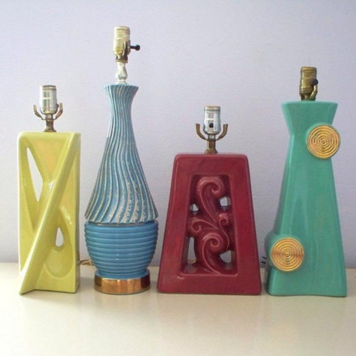 Ceramic Lamp | Antiques & Vintage Collectibles | Scoop.it
