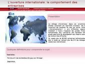 Accueil  - l'ouverture internationale comportement des entreprises   L'ouverture internationale et le comportement de l'entreprise   Scoop.it