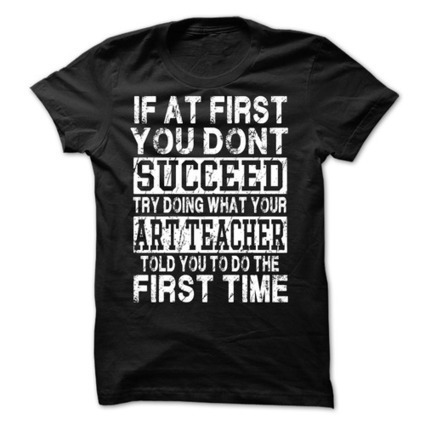 Funny Art Teacher Supehero T Shirts | For the Home | Scoop.it