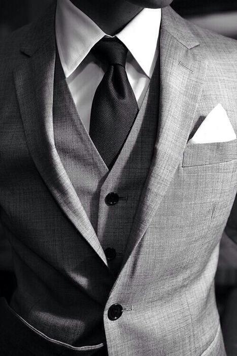 Camicia bianca e pochette abbinata. | Camicie uomo su misura....consigli, curiosità e molto altro | Scoop.it
