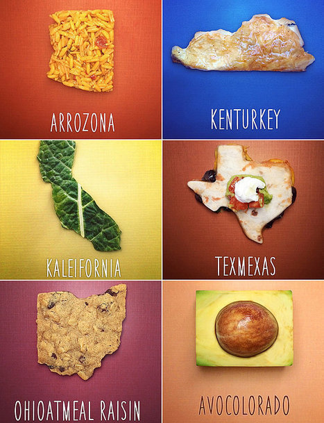Dad Teaches Son Geography With Food Puns - POPSUGAR | following geography education | Scoop.it