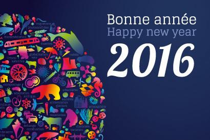 Le CNRS vous présente ses meilleurs vœux pour 2016 | Actualité des laboratoires du CNRS en Midi-Pyrénées | Scoop.it
