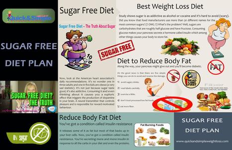 Sugar Free Diet Plan | Easy Ways To Lose Weight In A Months | Scoop.it