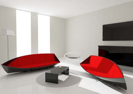 Boat Sofa by Bongyoel Yang | Art, Design & Technology | Scoop.it