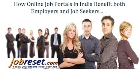 How Online Job Portals in India Benefit both Employers and Job Seekers | Latest Government Jobs Opening in India | Scoop.it