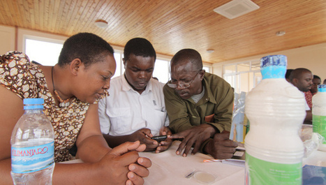Tanzania pilots mobile app to test drinking water and map water | Sanitation | Scoop.it