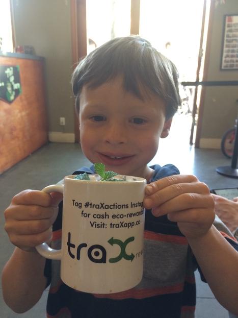 Action Hero Kid Uses Reusable Mug - Saves Waste! | Eco Action Heroes | Scoop.it
