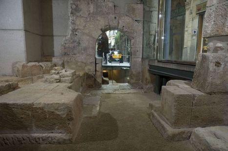Un retazo del Imperio romano en el corazón de Barcelona | Ganimedes | Scoop.it