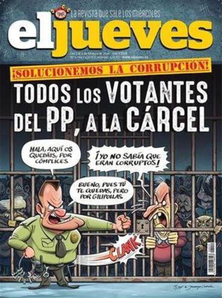 Todos los votantes del PP, a la cárcel. | Partido Popular, una visión crítica | Scoop.it