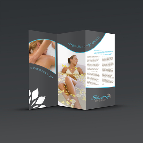 Serenity Spa & Salon - Branding project by Extend Graphics   Affordable Business   Scoop.it
