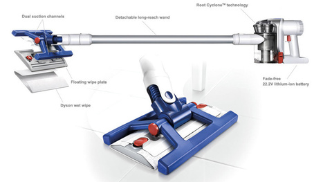 The Dyson Hard Just Made Your Floor Mop Obsolete | Gadgetism | Scoop.it