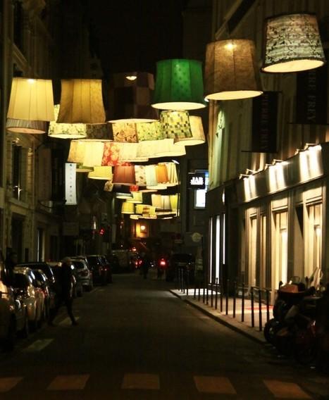 Une scénographie de rue lumineuse | Street Art by Mod&Wa | Scoop.it
