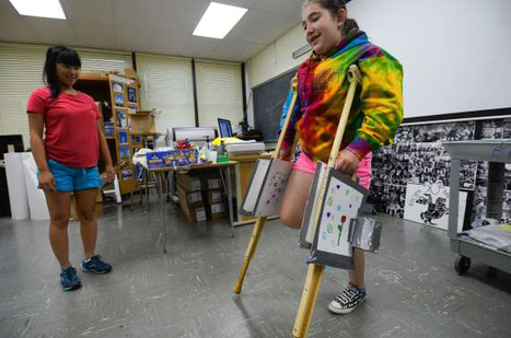 At a camp in Old Tappan, young girls exposed to engineering - NorthJersey.com | STEM Advocate | Scoop.it