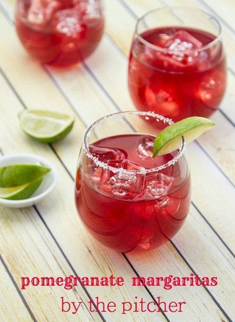 Pomegranate Margarita Recipe (by the pitcher) | Food for Foodies | Scoop.it