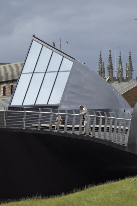 An Innovative, Interactive Pedestrian Bridge over the River Hull, U.K. | green streets | Scoop.it