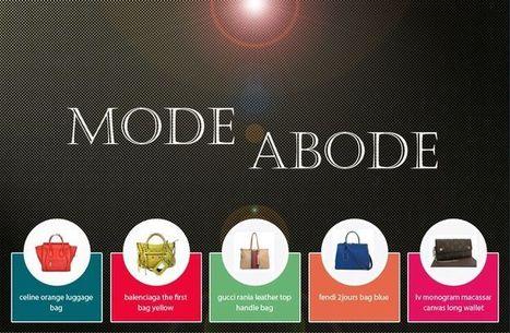 modeabode | Buy Online Designer Handbags | shop Wallets, Jewellery, Designer Shoes, Scarves, Sunglasses, Belts : Modeabode.com | Scoop.it