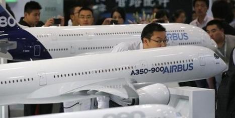 La Chine discute d'une méga-commande de 150 Airbus | Anton | Scoop.it