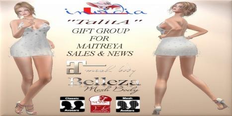 Second Life Complete Talita Maitreya Group Gift - NessMarket | 亗 Second Life Freebies Addiction & More 亗 | Scoop.it