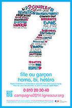 Campagne Ligne AZUR pour lutter contre l'homophobie : un numéro vert à votre service | Newsletter Onisep Grenoble - Avril - Mai - 2014 | Scoop.it