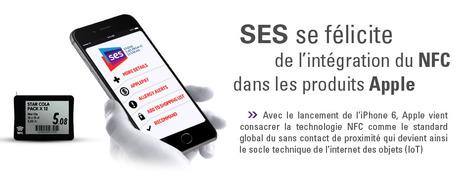 SES salue l'adoption du standard NFC par Apple! | Store Electronic Systems News | Scoop.it