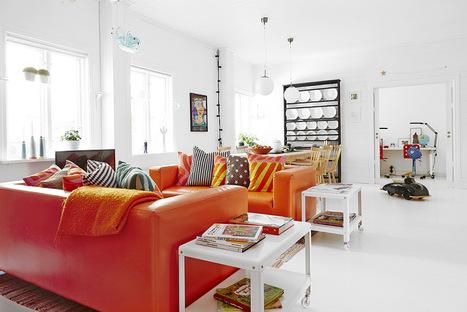 Un intérieur tout en contrastes | PLANETE DECO a homes world | Céka décore | Scoop.it