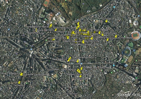 Nagoya Yom: TOKYO STORES GOOGLE EARTH MAP   TOPIC THAT I WORK IN   Scoop.it