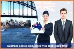 Australia Skilled Nominated Visa 190- Entitles You to Work and Live in Australia | Immigration & Visa Updates | Scoop.it