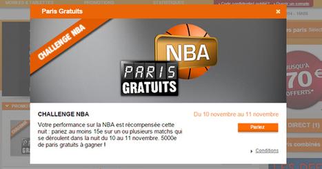 PMU régale sur le basket ce soir !! | Paris sportifs & bookmakers | Scoop.it