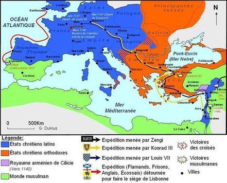 Les Croisades - la deuxième Croisade - Etale ta Culture Générale! | Histoire 2.0 | Scoop.it