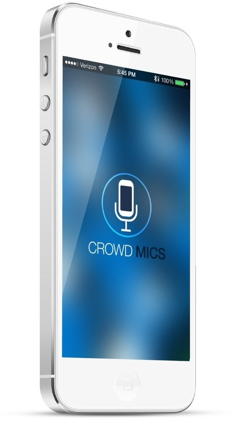 Crowd Mics - Smartphones are wireless microphones | Way Cool Tools | Scoop.it