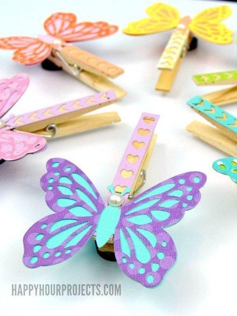 5 Easy Crafts With Clothespins | DIY & Crafts | Scoop.it