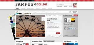 Fampus Aims to be Best Curated Database of Events for College Students | Curation, Social Business and Beyond | Scoop.it