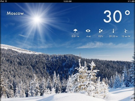 Daily iPad app: Weather 2X is a beautiful and basic weather app | iPads, MakerEd and More  in Education | Scoop.it