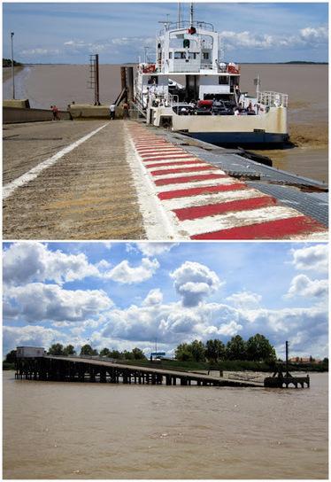 Ferry 'cross the Gironde: the Lamarque-Blaye boat connection (and ... | Estuaire de la Gironde | Scoop.it