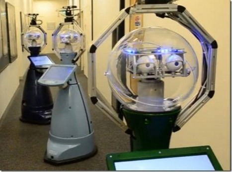 » Linda-the first robot-nurse for nursing homes Future technology   Innovating Innovation   Scoop.it