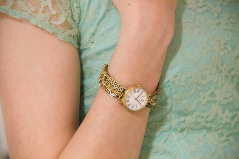 DIY Chain Watch | Fashion Digest | Scoop.it