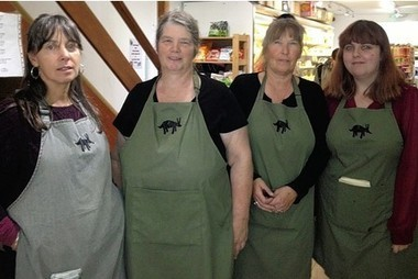 Carmarthen shop steps back in time to recreate 1940s vibe - This is South Wales   Aardvarks   Scoop.it