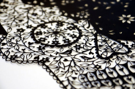 Artist Hand-Cuts Insanely Intricate Paper Art From Single Sheets Of Paper | Art, Photography, etc | Scoop.it