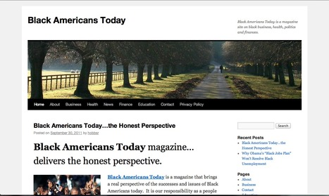 Website #2: Today | African Americans during the 1930s | Scoop.it