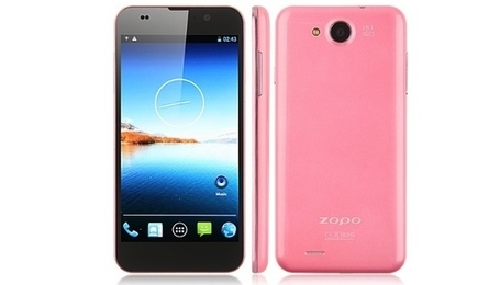 Pink Zopo C3, a 5-inch Turbo Smartphone with HD Display for ladies | The *Official AndreasCY* Daily Magazine | Scoop.it