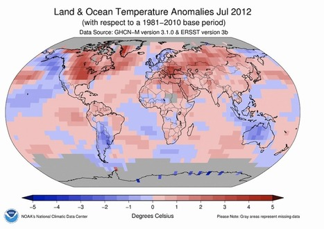Planet Records Fourth-Warmest July on Record | Learning, Teaching & Leading Today | Scoop.it