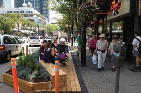 Parklets to Increase Urban Social Spaces | Urban forestry | Scoop.it