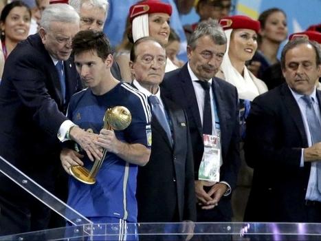 Messi Did Not Deserve to Win Golden Ball Award, Says Diego Maradona - NDTVSports.com | Iberasports | Scoop.it