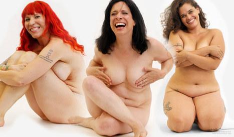 Bare : Enfin une campagne qui montre les femmes telles qu'elles sont ! (Photos) | Lingerie grande taille | Scoop.it