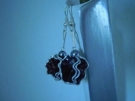 bijou fantaisie boucles d'oreilles capsules  : Boucles d'oreille par bijbox | bij - box ( bijoux à partir de capsules nespresso) | Scoop.it
