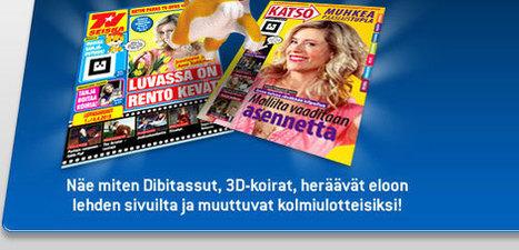 3D - Lisätty todellisuus lehdessä ensimmäisenä Suomessa! - Telvis.fi | Augmented Reality & VR Tools and News | Scoop.it