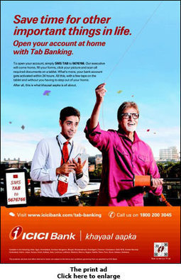 ICICI Bank: Banking on a tab - afaqs | Trends | Scoop.it